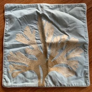 Pottery Barn Coral Pillow 18x18